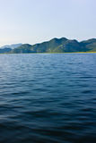 Beskåda från havet Royaltyfri Fotografi
