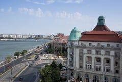 Stad av Budapest Arkivbild