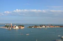 Lagiudecca - Venedig - Italien Fotografering för Bildbyråer