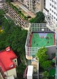 Att leka sätter in i Hong Kong Arkivfoton