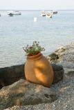 Ohrid laken Arkivbilder