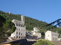 Gubbio Italien Arkivbild