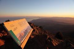 Beskåda in mot Gibraltar och Afrika Arkivbilder