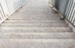 Beskåda nedanfört trappuppgången Royaltyfri Fotografi