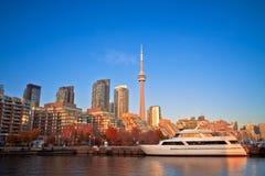 Den Toronto hamnen beklär Royaltyfri Fotografi