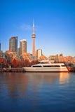 Den Toronto hamnen beklär Arkivfoto