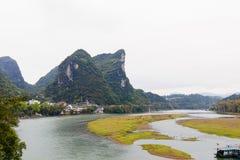 Lijiang River Arkivfoto