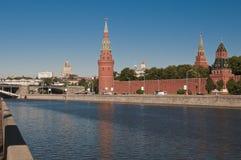 Moscow Kremlin Royaltyfri Bild