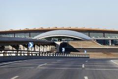 Beskåda på terminal 3, Peking huvudinternationella Aiport Royaltyfri Fotografi