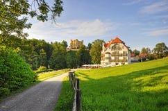 Beskåda till Schwangau Royaltyfria Foton