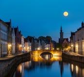 Bruges (Brugge), Belgien Royaltyfria Bilder