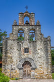 Beskickning Espada, San Antonio, TX arkivfoton