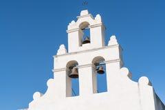 Beskickning Klockor av San Juan arkivfoto