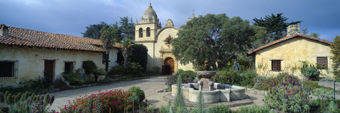 Beskickning San Carlos Borromeo de Carmel Royaltyfri Foto