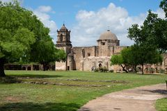 Beskickning San Jose San Antonio Texas royaltyfri fotografi