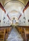 Beskickning San Jose Chapel royaltyfri foto