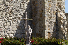 Beskickning San Juan Capistrano Arkivbild