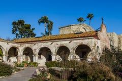 Beskickning San Juan Capistrano Arkivbilder