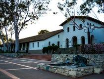 Beskickning San Luis Obispo fotografering för bildbyråer