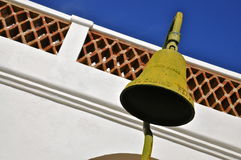 Beskickning San Luis Rey Bell arkivfoto