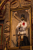 Beskickning San Xavier del Bac Icon Royaltyfri Fotografi