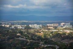 Beskickningdal av San Diego Arkivbilder