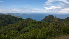 Beskickninglogeutkik i Seychellerna Royaltyfria Foton