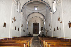 BeskickningSan Jose kapell, San Antonio, Texas, USA royaltyfri foto