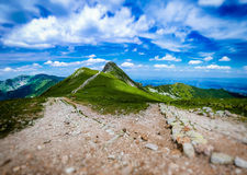 Beskid at Polish West Tatras in Summer Stock Photo
