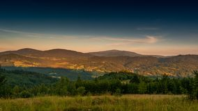 The Beskids royalty free stock photography