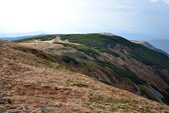 Beskidy-Berge in Polen Lizenzfreie Stockfotos
