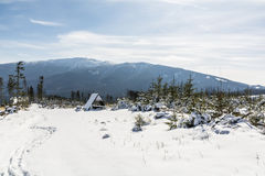 Beskidy Mountains (Beskids). Royalty Free Stock Photo