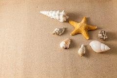 Beskjuter på sanden Arkivbilder
