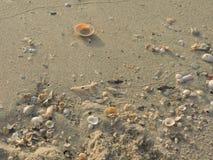 Beskjuter på sanden Royaltyfria Foton