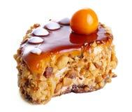 Beskvitnye kleine cake met noten Royalty-vrije Stock Afbeelding