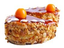 Beskvitnye kleine cakes met noten Stock Foto