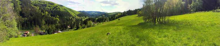 Beskydy山在捷克 库存照片