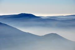 beskydy berg Fotografering för Bildbyråer