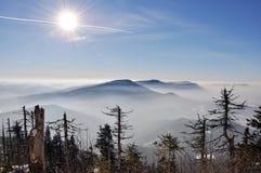 beskydy berg Arkivbilder