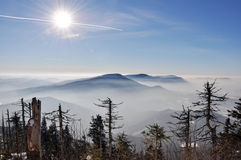 Beskydy Berge Stockbilder