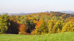 Beskydy mountains in autumn Royalty Free Stock Images