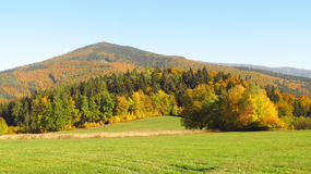 Beskydy mountains in autumn Stock Photos
