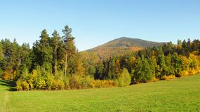 Beskydy mountains in autumn Stock Photo