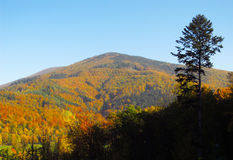 Beskydy mountains in autumn Royalty Free Stock Photos