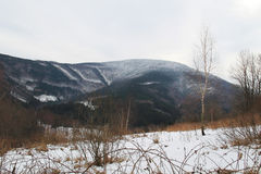 Beskydy mountains in winter Royalty Free Stock Image