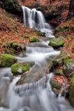 beskydy vattenfall Royaltyfri Foto