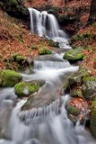 beskydy wodospadu Zdjęcie Royalty Free