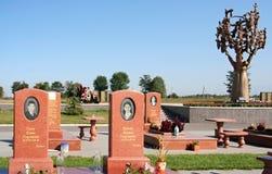 Beslan. soeur et frère. Photo stock