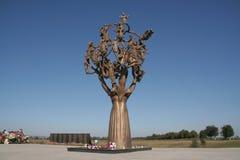 beslan stroskania drzewo Zdjęcia Royalty Free