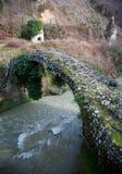 Besletskybrug, sinds de tijd van Koningin Tamara, dichtbij Sukhumi stock foto